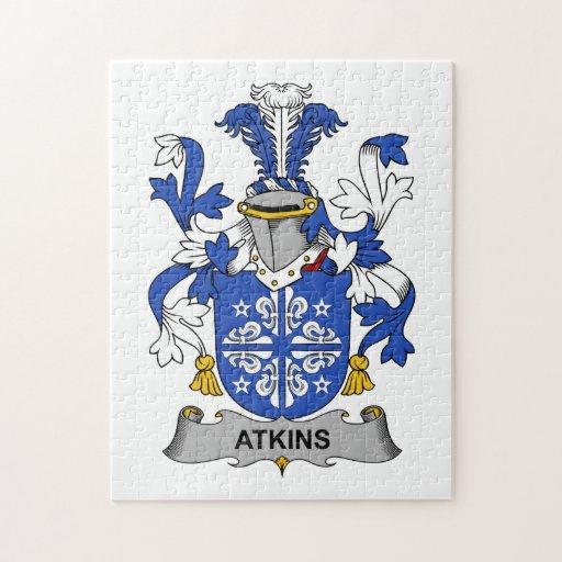 Escudo de la familia de Atkins Rompecabezas