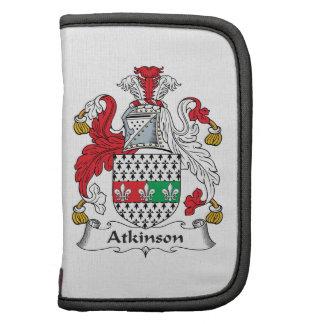 Escudo de la familia de Atkinson Organizador