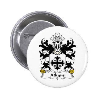 Escudo de la familia de Atkyns Pins
