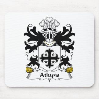 Escudo de la familia de Atkyns Alfombrillas De Ratones