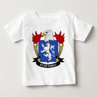 Escudo de la familia de Atlee Playera De Bebé