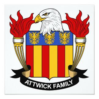 Escudo de la familia de Attwick Anuncio Personalizado