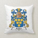 Escudo de la familia de Auber Cojines