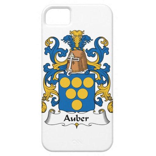 Escudo de la familia de Auber iPhone 5 Case-Mate Cárcasa