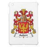 Escudo de la familia de Aubert iPad Mini Coberturas