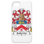 Escudo de la familia de Aubertin iPhone 5 Case-Mate Protector