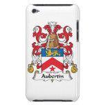 Escudo de la familia de Aubertin iPod Case-Mate Cárcasa