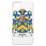 Escudo de la familia de Aubin iPhone 5 Case-Mate Cobertura