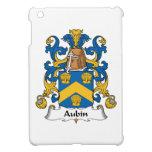 Escudo de la familia de Aubin iPad Mini Cárcasa