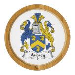 Escudo de la familia de Aubrey