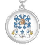 Escudo de la familia de Aubry Collares Personalizados
