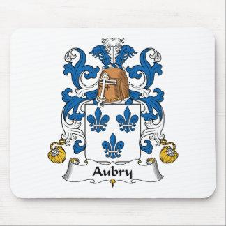 Escudo de la familia de Aubry Alfombrilla De Raton