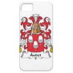 Escudo de la familia de Audet iPhone 5 Case-Mate Carcasas