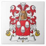 Escudo de la familia de Audet Teja