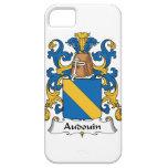 Escudo de la familia de Audouin iPhone 5 Case-Mate Cobertura
