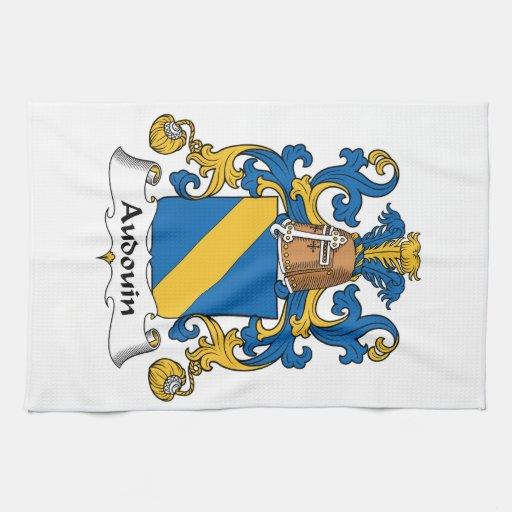 Escudo de la familia de Audouin Toallas