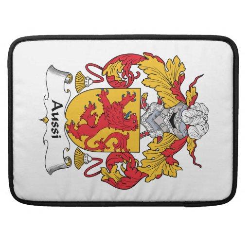 Escudo de la familia de Aussi Fundas Macbook Pro