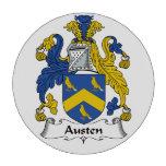 Escudo de la familia de Austen Juego De Fichas De Póquer