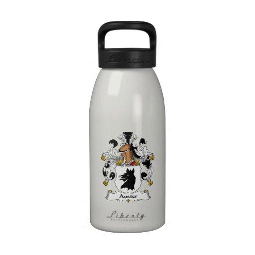 Escudo de la familia de Auster Botella De Beber