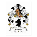 Escudo de la familia de Auster Postales