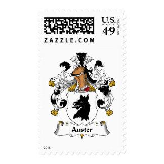 Escudo de la familia de Auster Sello