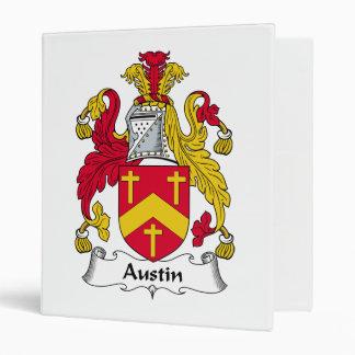 """Escudo de la familia de Austin Carpeta 1"""""""