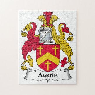 Escudo de la familia de Austin Rompecabezas