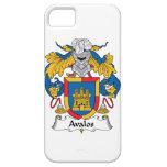 Escudo de la familia de Avalos iPhone 5 Protector