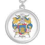 Escudo de la familia de Avalos Joyería