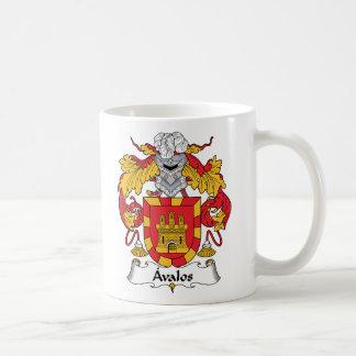 Escudo de la familia de Avalos Taza