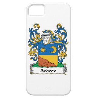 Escudo de la familia de Avdeev iPhone 5 Case-Mate Carcasas