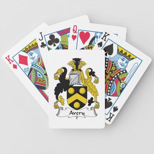 Escudo de la familia de Avery Barajas De Cartas