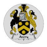Escudo de la familia de Avery Fichas De Póquer