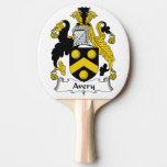 Escudo de la familia de Avery Pala De Tenis De Mesa