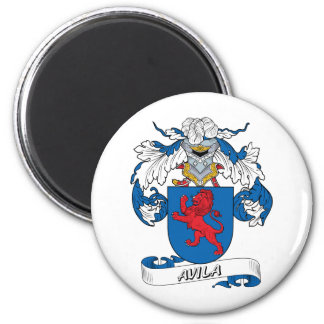 Escudo de la familia de Ávila Iman Para Frigorífico