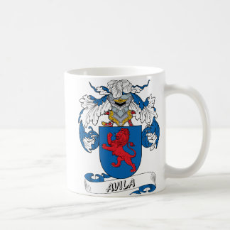 Escudo de la familia de Ávila Tazas De Café