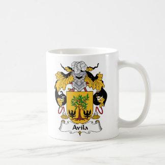 Escudo de la familia de Ávila Taza De Café