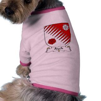 Escudo de la familia de Aych Camiseta De Perro