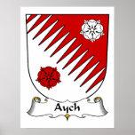 Escudo de la familia de Aych Impresiones
