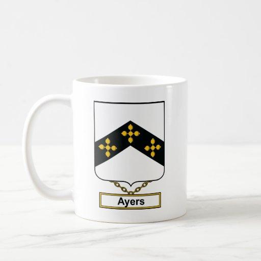 Escudo de la familia de Ayers Taza