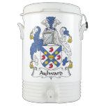 Escudo de la familia de Aylward Vaso Enfriador Igloo