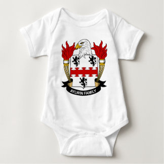 Escudo de la familia de Aylwin Body Para Bebé