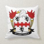Escudo de la familia de Aylwin Cojin