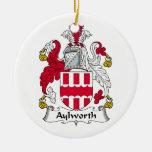 Escudo de la familia de Aylworth Ornamentos De Reyes Magos
