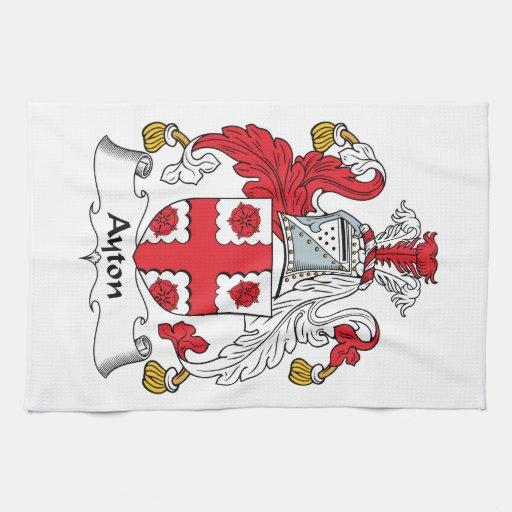 Escudo de la familia de Ayton Toalla De Cocina