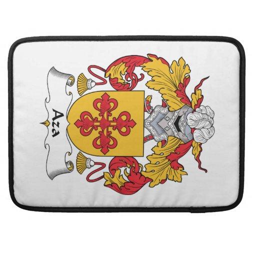 Escudo de la familia de Aza Fundas Para Macbook Pro