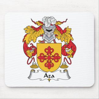 Escudo de la familia de Aza Alfombrilla De Raton