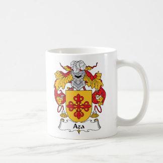 Escudo de la familia de Aza Tazas