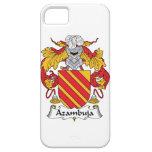 Escudo de la familia de Azambuja iPhone 5 Case-Mate Protectores