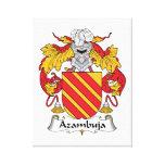 Escudo de la familia de Azambuja Impresión En Lona Estirada
